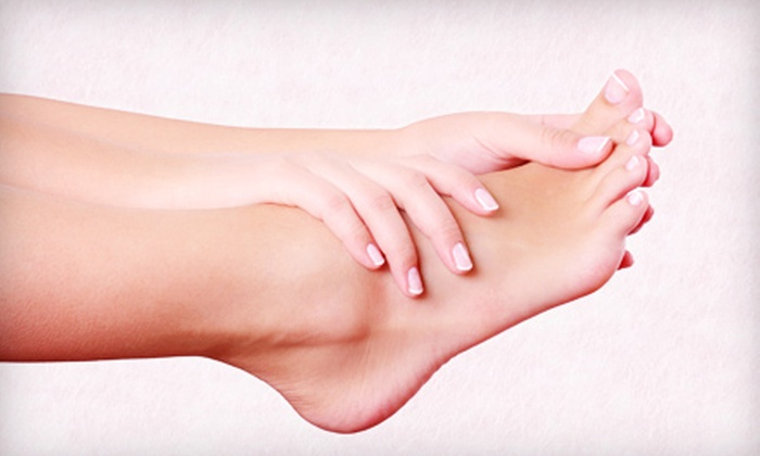 False Creek Skin Solution Clinic - False Creek South: Two Laser Toenail-Fungus Treatments for One or Both Feet at False Creek Skin Solution Clinic (Up to 73% Off)
