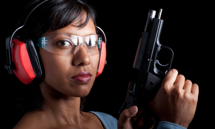 Campbell's Firearms Training - Multiple Locations: Shooting-Range Package for One or Two from Campbell's Firearms Training (Up to 51% Off).  4 Locations Available.