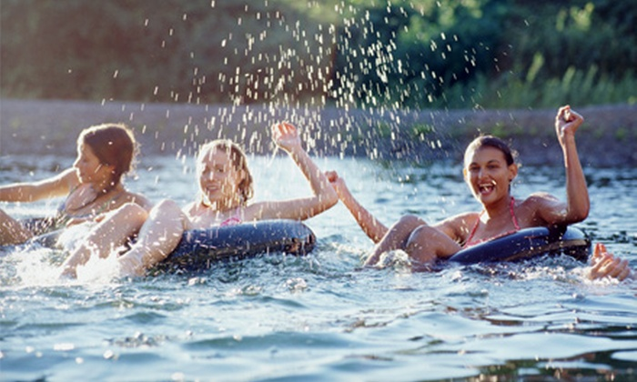 Riverfront Camp Canoe - Niangua River - Bennett Springs: Tubing Day River Float Trip for Two, Four, or Six at Riverfront Camp Canoe in Lebanon (Up to 56% Off)