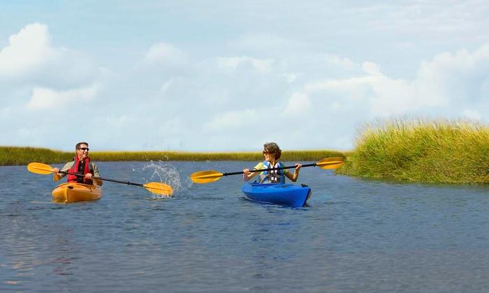 Omni Amelia Island Plantation Resort - Amelia Island, FL: 90-Minute Kayak Tour for Two or Four from Omni Amelia Island Plantation Resort (Up to52% Off)