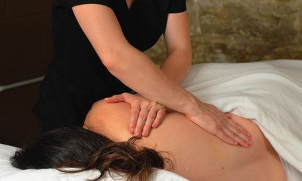 60-Minute Therapeutic Massage and Consultation from Healthy By Intention (44% Off)