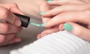 Mirror Mirror Spa Salon: One or Two Manicures and Pedicures at Mirror Mirror Salon Spa (Up to 40% Off)