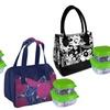 Vienna or Dallas Designer Lunch Bag with Storage Pods