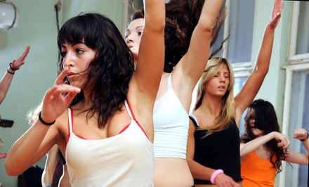 Four Weeks of Unlimited Zumba Classes at Champions Sports Center (64% Off)