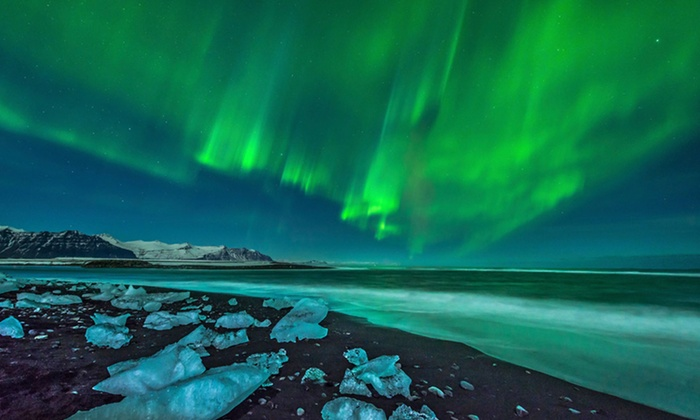 Iceland Vacation with Airfare - Best Western Hotel Reykjavik: 5-Day Iceland Vacation with Airfare and Northern-Lights Tour from Gate 1 Travel. Price/Person Based on Double Occupancy.
