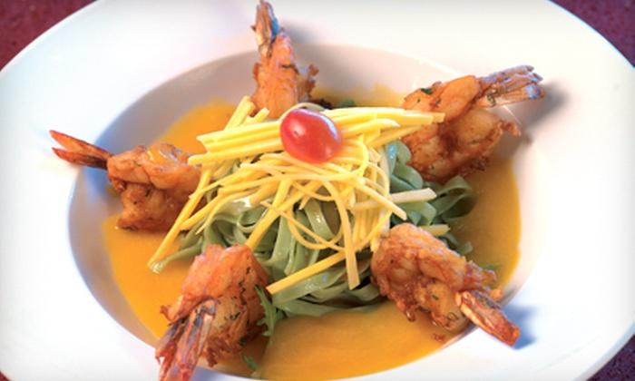 Okinawa Hibachi Steakhouse - West Harrison: Japanese Cuisine Friday–Sunday or Monday–Thursday at Okinawa Hibachi Steakhouse (Up to 56% Off)