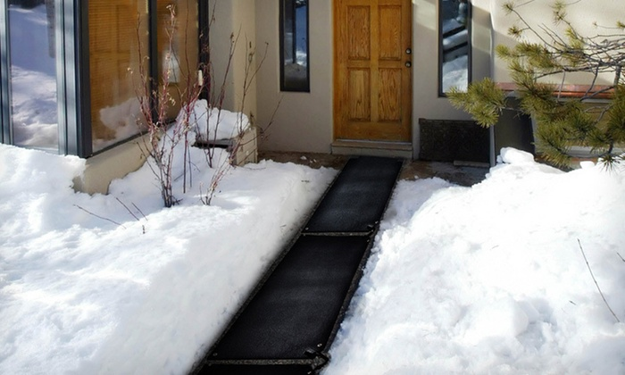 Up To 30 Off Heated Snow Melting Mats