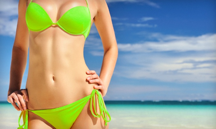 The Natural Beauty In You - Huntington: Two, Four, or Six Organic Spray Tans at The Natural Beauty In You (Up to 57% Off)