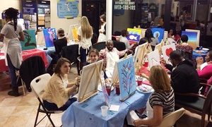 The Artistic Giraffe: Painting Party at The Artistic Giraffe (Up to 50% Off). Three Options Available.