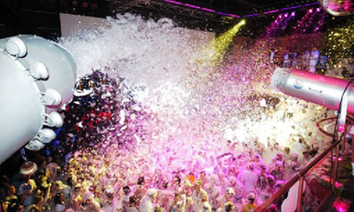 """Foamshow - Elektricity: VIP Access for Two or Four to Foamshow's """"Electric Foam"""" at Elektricity Nightclub on Sunday, June 30 (Up to 54% Off)"""