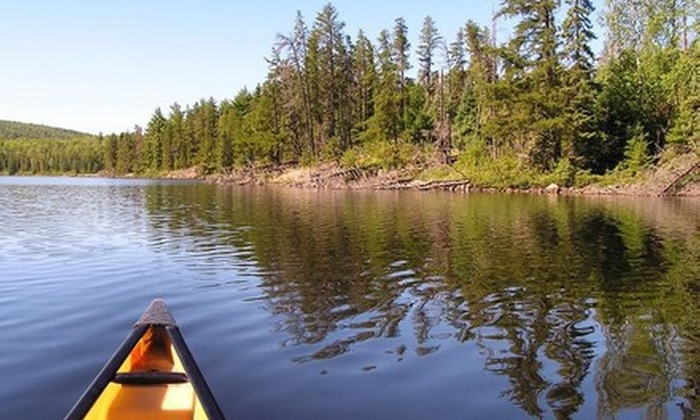 Voyageur North Outfitters - Ely: $199 for a Four-Day, Three-Night Canoe Trip in the Boundary Waters for One from Voyageur North Outfitters ($395 Value)