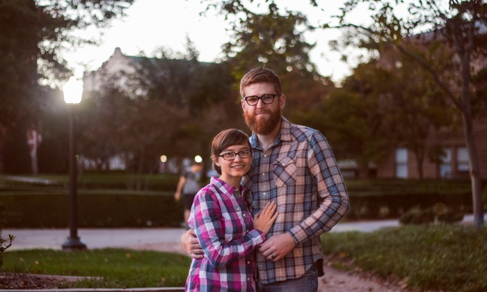 Yellow Ring Visuals - Oklahoma City: 60-Minute Engagement Photo Shoot from Yellow Ring Visuals (70% Off)
