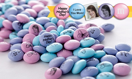 Personalized M&M'S from MyMMs.com (50% Off). Two Options Available.