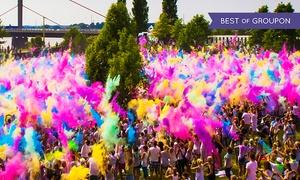 Holi Festival: Holi-Festival of Colours mit den Atzen als Headlinern am 22. Juli in Berlin inkl. Farbbeuteln (50% sparen)