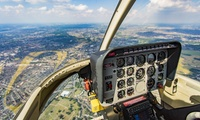 Helicopter Buzz Flight with Chocolates and Bubbly for Two at Adventure 001 (43% Off)