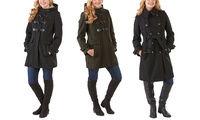 London Fog Heritage Women's Wool-Blend Coats