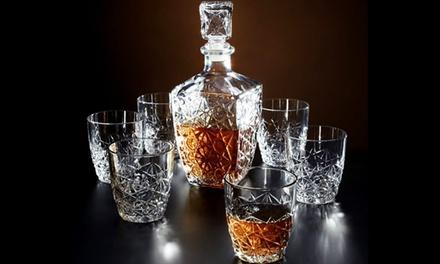 Bormioli Rocco Dedalo Spirit Decanter or Decanter and Glasses Set