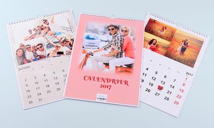 1, 2 ou 3 calendriers photo personnalisés format A4, dès 2,99 € avec eColorland (jusquà 86% de réduction)