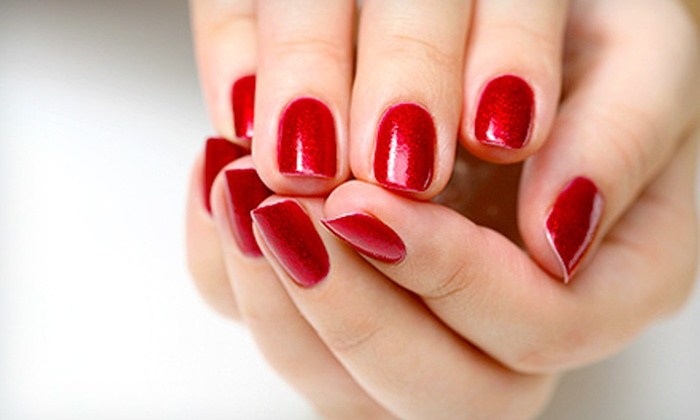 Diamond Nail Boutique - Jackson: Shellac Manicure with Optional Deluxe Pedicure at Diamond Nail Boutique (Up to 57% Off)