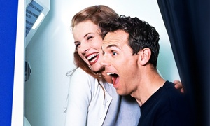 Elite Photobooth NE: Two- or Three-Hour Photo-Booth Rental with Unlimited Photos from Elite Photobooth NE (Up to 34% Off)