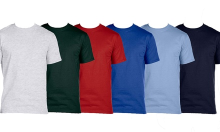 10-Pack of Hanes Men's Classics Crew Neck Undershirts