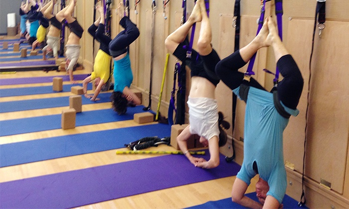 Yoga Bent - West Loop Health & Sports Performance Center: $35 for 10 Mighty Body Band Yoga Classes at Yoga Bent ($120 Value)