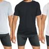 Men's Cotton-Blend Classic Crew-Neck Undershirts (6-Pack)