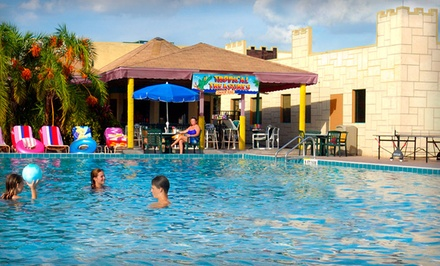 groupon daily deal - Stay at Seralago Hotel in Kissimmee, FL, with Dates into December