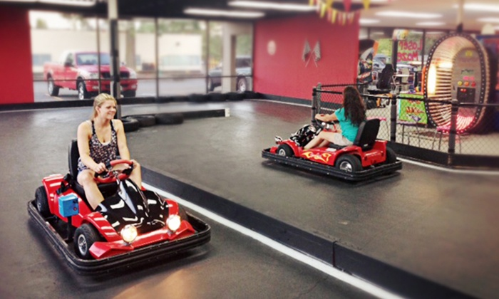 Jabbersons Fun Center - Milwaukie Heights: $16 for Go-Kart Rides and Laser Maze Admissions for Two People at Jabbersons Fun Center ($32 Value)