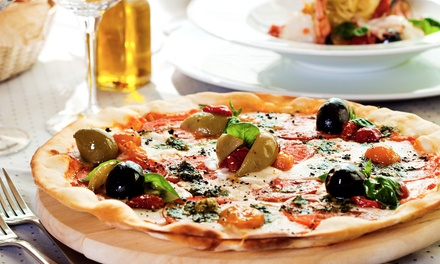 Pizza Meal for Two at Brick&Basil Wood Fired Pizza Company (41% Off)