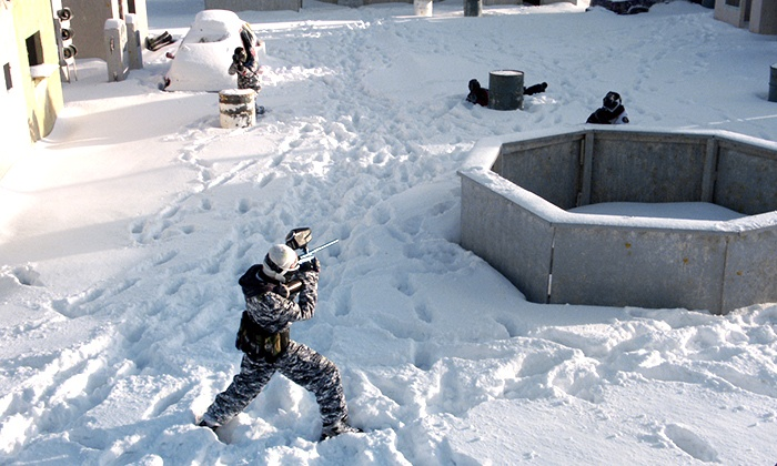 Karters Korner - Stittsville - Richmond: Winter Paintball Package with Paintballs, Masks, and Markers for Two or Four at Karters Korner (Up to 51% Off)