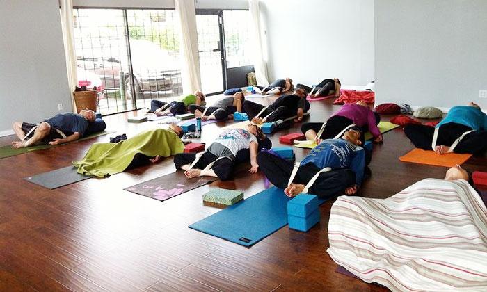 Vayusha Yoga - Surrey: Three Yoga Classes or One Month of Unlimited Yoga at Vayusha Yoga (Up to 70% Off)