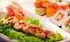 $10 for Japanese Food at Yakitori Sushi House