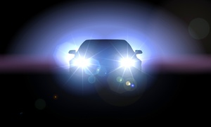 Magic Headlight Cleaning Service: In-Shop or On-Location Restoration of Both Headlights from Magic Headlight Cleaning Service (Up to 87% Off)