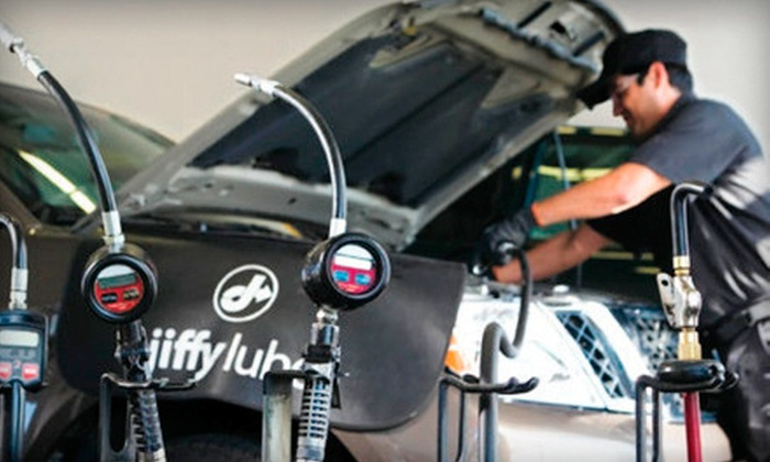 Jiffy Lube - Multiple Locations: $36 for Jiffy Lube Signature Service Oil Change, Tire Rotation, and Rain-X Original Glass Treatment (Up to $73.97 Value)