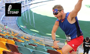 Stadium Stomp: Stadium Stomp 5000 Stair Challenge - Entry for $45 (Plus Booking Fee) - 30 July - Gabba Stadium (Up to $60 Value)