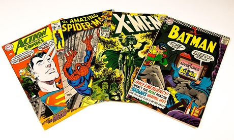 "$39 for 60-75 Classic Comic Books & Vintage ""Star Wars"" Memorabilia from Classic Superheroes bb2a8ed5-691a-49d1-abe3-b3622e00fa59"