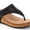 Lady Godiva Women's Comfort Thong Sandal (Size 6.5)