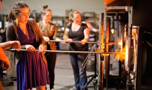 Create A Paperweight Or Ornament In A Glass-blowing Class