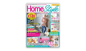 HomeStyle Magazine: One-Year Subscription to HomeStyle Magazine with Free Delivery (44% Off)