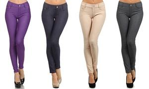 Women's 5-Pocket Slimming Jeggings (3-Pack) at Chalmon's LLC, plus 9.0% Cash Back from Ebates.