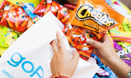 $10 for $20 Towards Groceries and Delivery from GoPuff