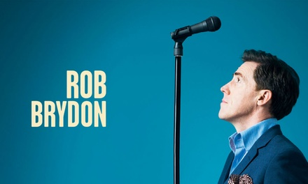Rob Brydon: I am Standing Up, One (1) Grand Tier or Stall Ticket, 22 September at Palace Theatre Manchester