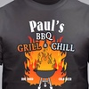 25% Off a Personalized BBQ Grilling T-Shirt