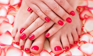 Manicures And Pedicures At Patriot Nail Salon (up To 60% Off). Four Options Available.