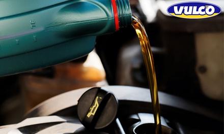Vidange 10W40, 5W40 ou 5W30 avec changement du filtre à huile dès 49,90 € chez Vulco Obernai