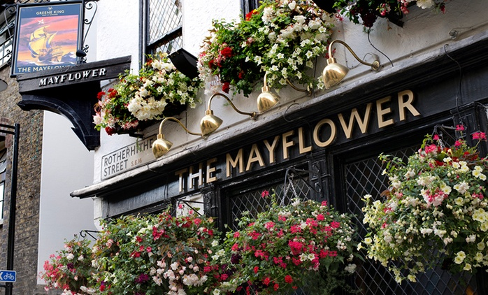 Cheese and Ale Tasting Platter for £14 at The Mayflower