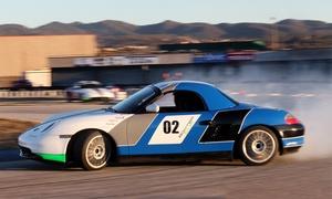Experiencia Gp: Curso de conducción 'drift' en Porsche Boxter Cup con 4 o 9 vueltas a circuito desde 49 €. Tienes 3 circuitos a elegir