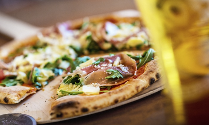 The Blue Grasshopper Brew Pub - Rio Rancho: Beer and Pizza for 2 or 4, Valid Sunday–Thursday or Any Day at The Blue Grasshopper Brew Pub (Up to 43%Off)