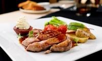 Menu « Estival » comprenant entrée, plat et dessert pour 2 ou 4 personnes dès 33,50 € au restaurant Winter City